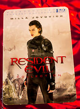 Resident Evil Collection Jumbo Steelbook (5 Films), Blu-Ray Limited Edition NEW!