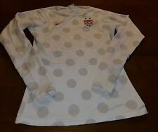 USA women's Natinoal soccer team rare thermal training jersey worn by players