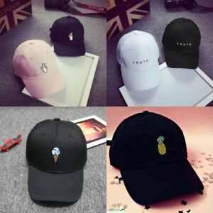 New-Men-Women-Baseball-Cap-Snapback-Hat-Hip-Hop-Adjustable-Bboy-Caps