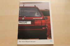 74950) VW Passat Variant Prospekt 01/1994