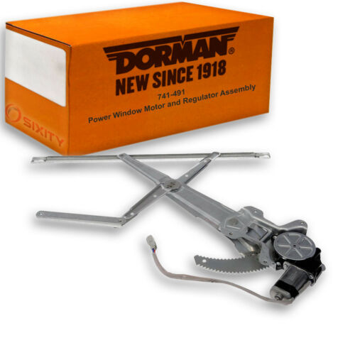 Dorman OE Solutions 741-491 Power Window Motor and Regulator Assembly for qy