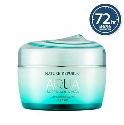 [Nature Republic] Super Aqua Max Watery Cream for Combination Skin (80ml)