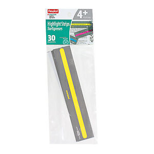 Roylco-Reading-Highlight-Strips-Assorted-Colors-Pack-of-30