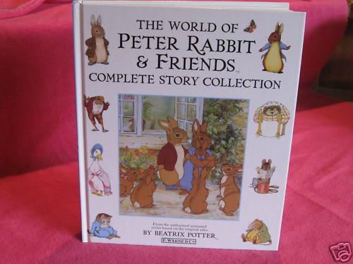 World of PETER RABBIT & Friends ~ BEATRIX POTTER. HbDj  Color illustrat  in MELB