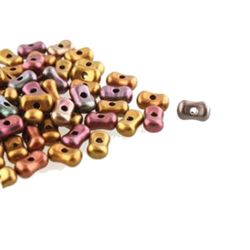 Farfalli 3.2x6.4mm Peanut Czech Glass Beads 19 grams U-Pick