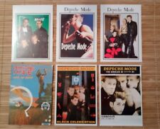 6 carte postale Depeche Mode
