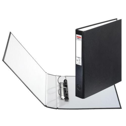 Farbe DIN A5 mit 2-Ringe 10x Herlitz Ringbuch schwarz
