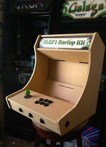 La Foto Se Está Cargando Facil De Montar 1p Bartop Tablero Arcade Kit