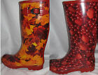 Ladies Autumn OR Fruit Wellies Wellington Boots Rubber Boots Size UK 5, 6, 7