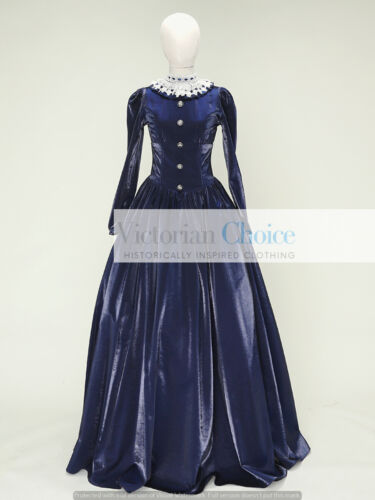 Victorian Clothing, Costumes & 1800s Fashion    Victorian Dickens Civil War Little Women Dress Reenactment Theatre Costume 316  AT vintagedancer.com