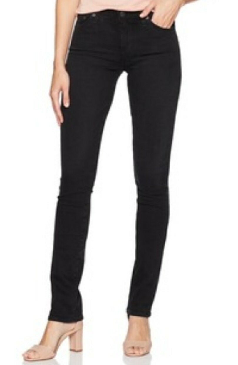 AG Adriano goldschmied Women's Straight Leg The Predege Jeans Size 32 RT