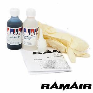 Ramair-Espuma-Pod-Filtro-economia-Kit-de-limpieza-y-polimeros-de-tratamiento-para-Vespa