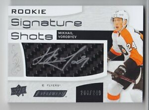 2018-19-UD-ENGRAINED-MIKH-VOROBYEV-RC-AUTO-200-249-ROOKIE-SIGNATURE-SHOTS-Flyers