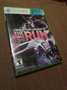 NEED FOR SPEED: THE RUN Xbox 360 w/ Original Box