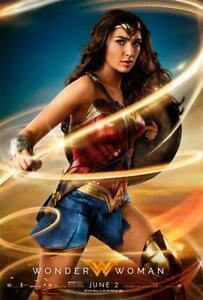 Gal Gadot Movie Wonder Woman Wonder Fabric Art Decor Film Poster Ebay