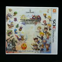 Theatrhythm Final Fantasy (nintendo 3ds, 2012)
