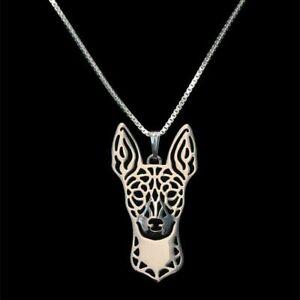 Rat-Terrier-Necklace-Dog-Lover-Pendant-Necklaces-Alloy-Pet-Face-Woman-Jewelry