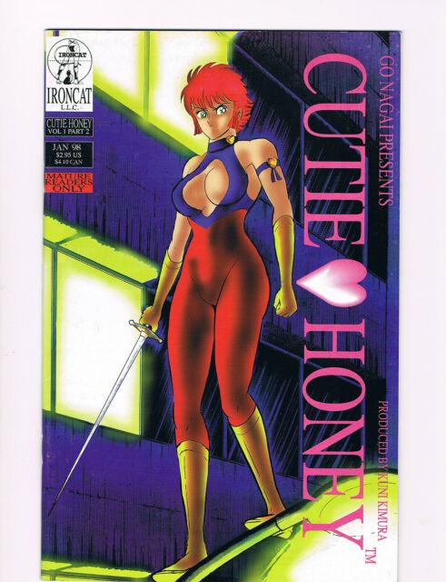 Cutie Honey #2, #4  Go Nagai 1998- mature content VF/NM