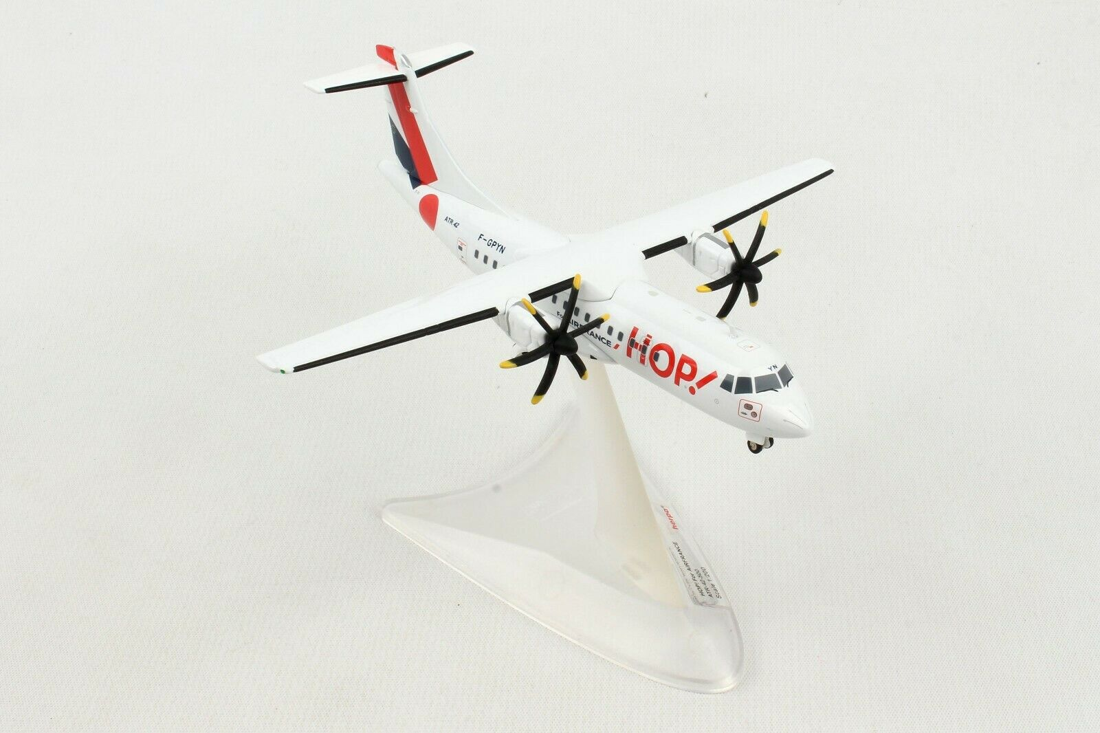 HE559409 Herpa HOP pour Air France ATR-42-500 1 200 Die-Cast Model Airplane