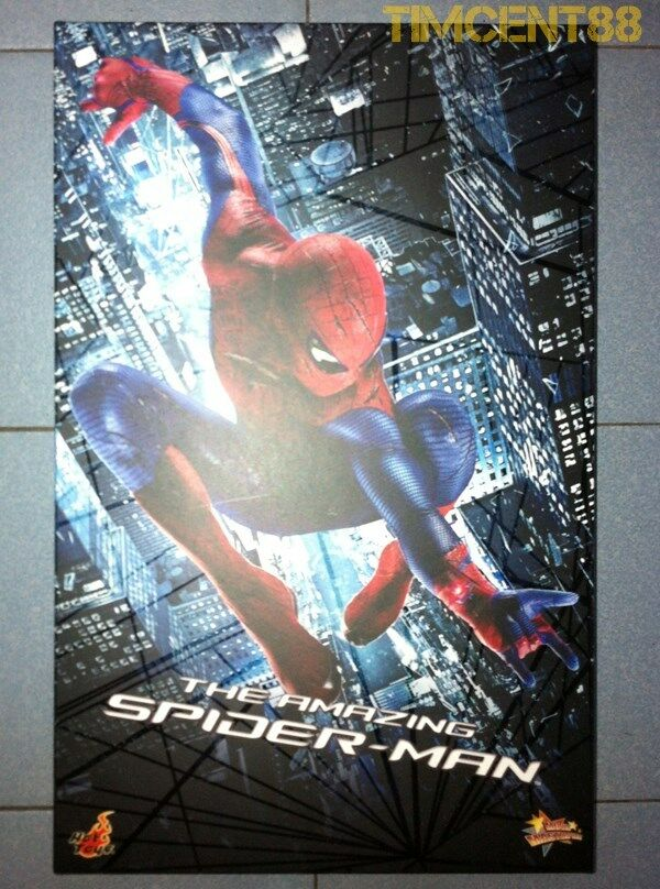 Hot Toys MMS179 1 1 1 6 The Amazing Spider-Man Spiderman Andrew Garfield Figure New 908a1d