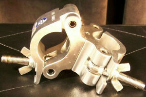 NEW! Global Truss Pro Swivel Clamp Double Cheeseborough Best Pricing!