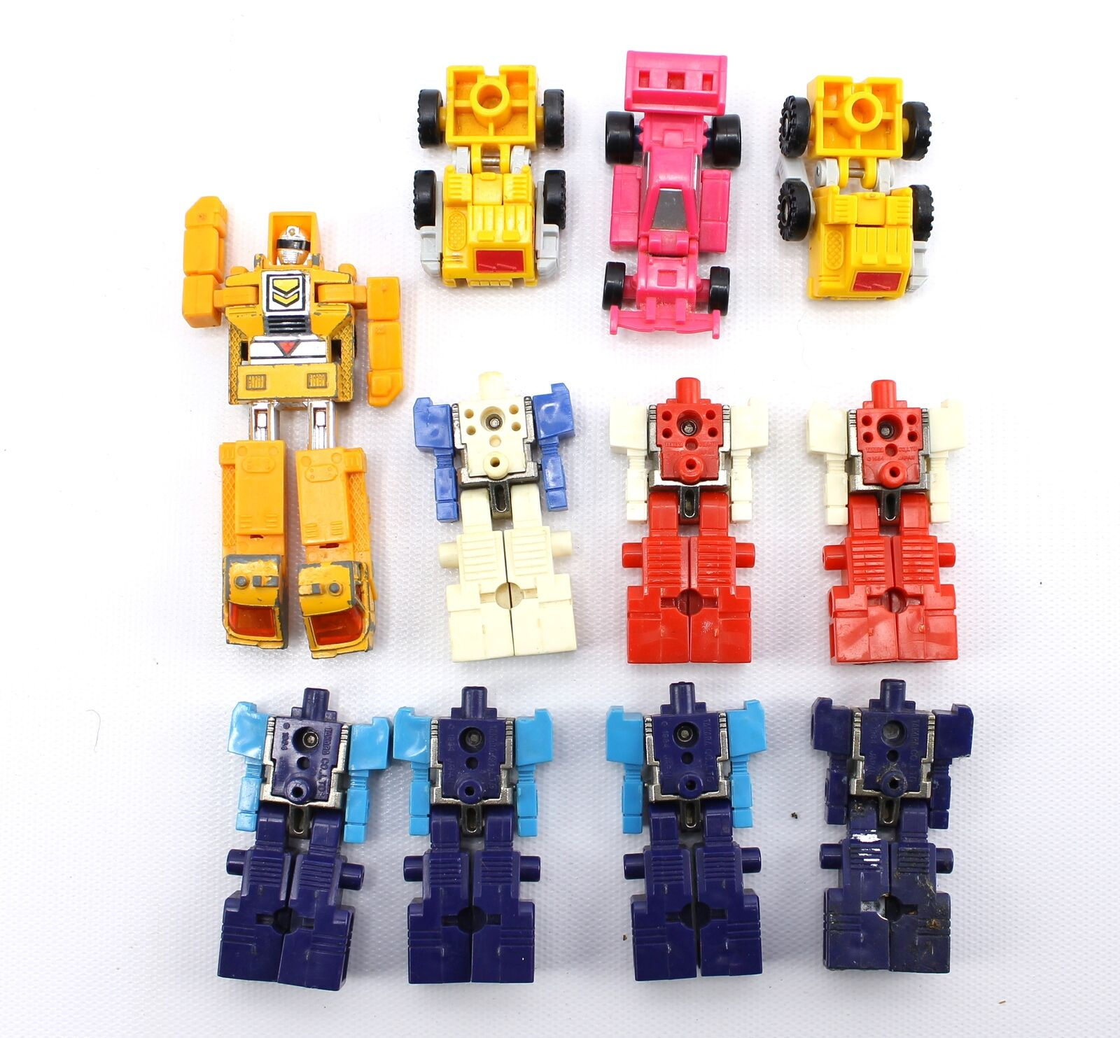 Vintage 1980s Transformers Bandai Takara Robot Toy Mixed Lot 1983 1984 1990