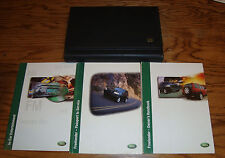 Original 2001 Land Rover Freelander Owners Operators Manual w/Case