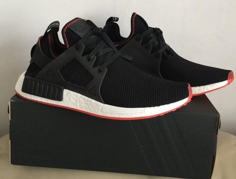 Adidas NMD núcleo XR1 Negro-Core Negro-Rojo Solar BY9924 Hombres Zapatillas tamaño de Reino Unido 11.5