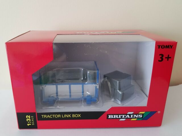BRITAINS TRACTOR LINK BOX 1/32 SCALE