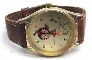 Vtg-Vintage-Bright-Ideas-Betty-Boop-Watch-1989