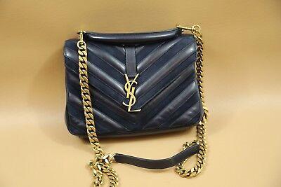218 Ysl Yves Saint Laurent Medium College Shoulder Bag
