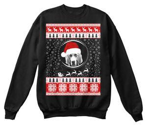 Weimaraner Noël joyeux amoureux de unisexe pour shirt Sweat doux et les wv1PIq4
