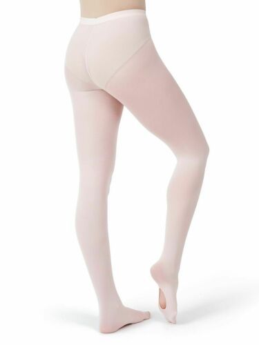 XXL New Pink Capezio Ultra Soft Transition Tight with Elastic Waistband 1816