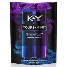 2 Pack - K-Y Yours and Mine Couples Lubricant, 3oz per Package