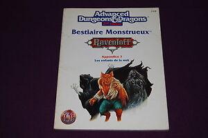 AD-amp-D-JDR-Jeu-de-Role-Ravenloft-Bestiaire-Monstrueux-3-Enfants-de-la-Nuit