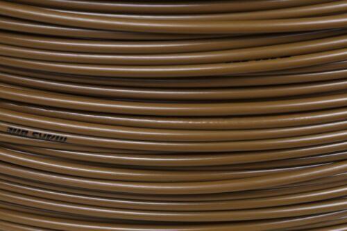 1 m Bowdenzughülle braun für Schaltungszüge