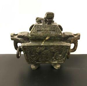 Green-Aventurine-Burner-Sculptures-7-inch-Natural-Jade-Carved-Stone
