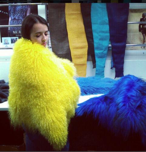 Jacket Real Outwear Parka Hair Coat Fur Shaggy Lamb Women Mongolian Long Flurry SvRnxdRzqw