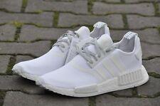 bc55a2274b9d Adidas NMD R1 Triple White 3M REFLECTIVE Monochrome S31506 Men Size 12.5  mesh ra