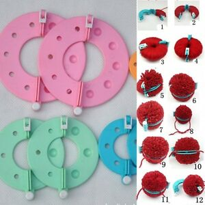 8Pcs-Pompom-Ball-Maker-Fluff-Weaver-Needle-Craft-Essential-Knitting-Wool-Tools