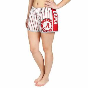 Forever-Collectibles-NCAA-Women-039-s-Alabama-Crimson-Tide-Pinstripe-Shorts