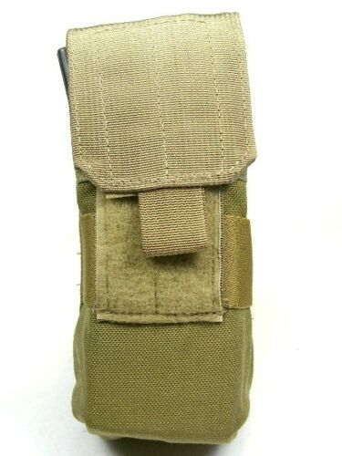 khaki or ranger green choice of coyote Eagle MOLLE 5.56mm Double Mag Pouch