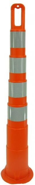 Three D Traffic Works 42 in. Orange Safety Cone without Base and 4 Bands with 4