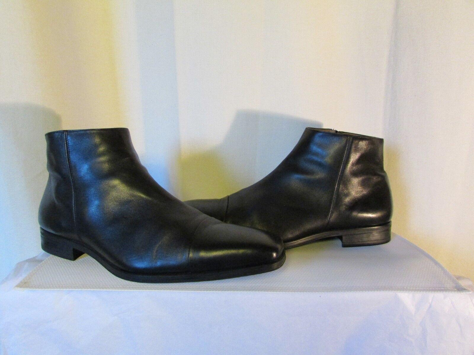 Bottines pertini cuir negro pointure 42