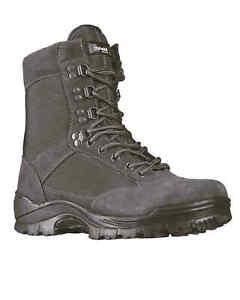 Détails sur MIL TEC TACTICAL Boot M. YKK ZIPPER Urban Grey Bottes Chaussures afficher le titre d'origine