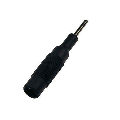 Adapter Mzs2 Hirschmann Adapterstecker 2mm Stecker 4mm Buchse Mzs 2 Schw. 039735
