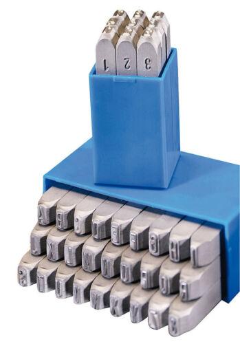 0-9+A-Z,/& 1mm Schlagstempel GRAVUREM-S Schlagzahlen Satz Schlagbuchstaben