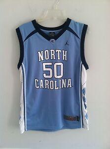the latest e74dc cccb3 Michael Jordan 50 youth size Large L North Carolina Tarheels ...