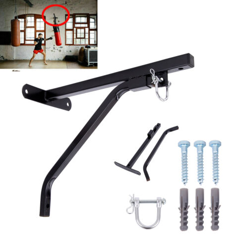 Heavy Duty Steel Punch Bag Wall Bracket  Mount Hanging Stand Boxing Hanger