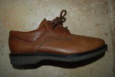 New Caramel Brown Leather Laced JACQUES COHEN Low Shoes EU 37 US 6.5 - 7